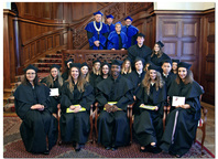 Diploma ceremony of specialties International Marketing and Political Management
